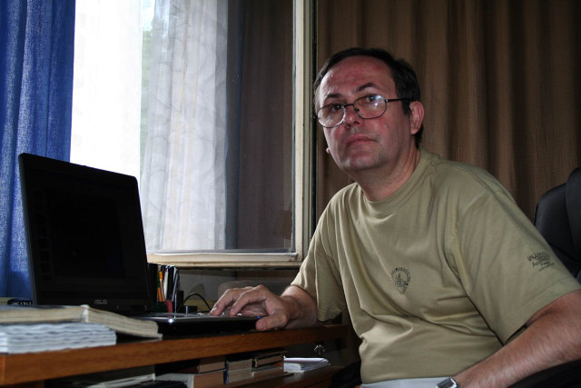 RNDr. Zdeněk Komárek, samost. odbor. prac.-astronóm