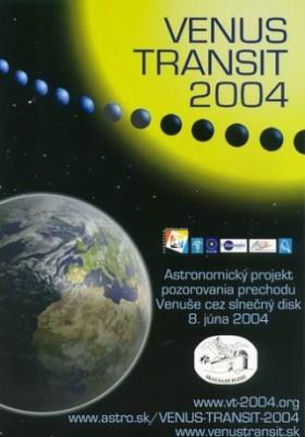 Plagát VENUS TRANSIT 2004