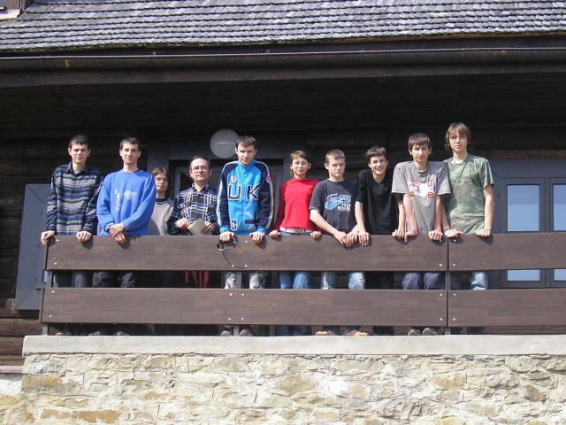Účastníci jarnej expedície do Roztokov 2006