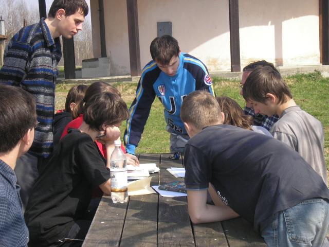 Príprava na krajské kolo súťaže