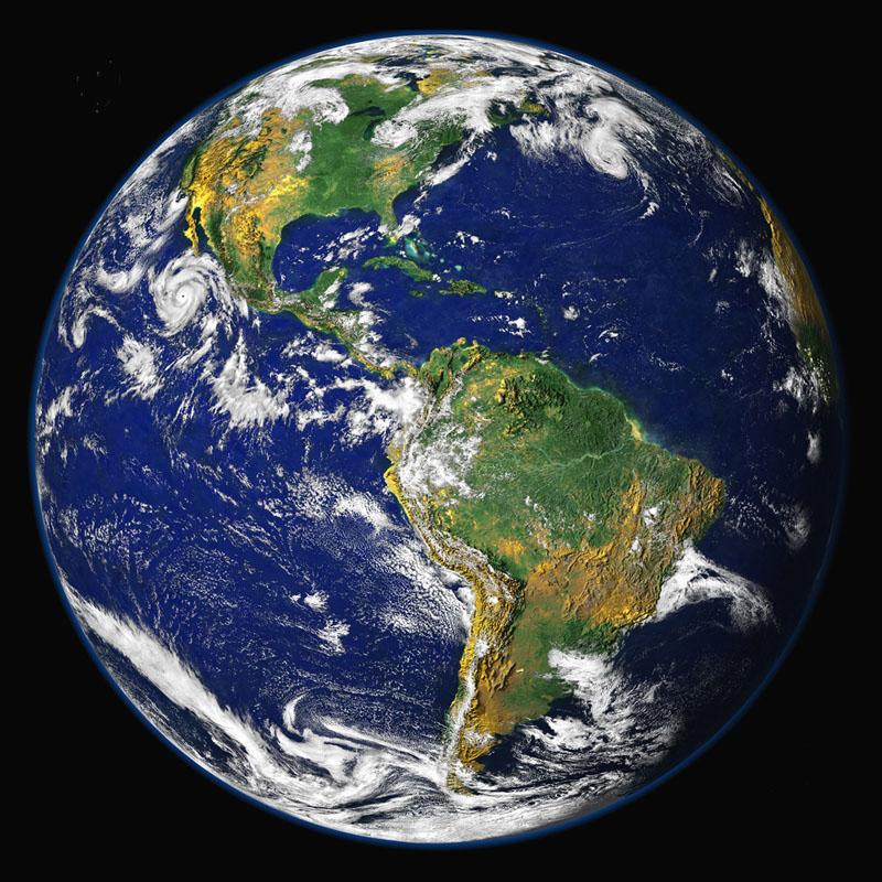 Naša modrá planéta