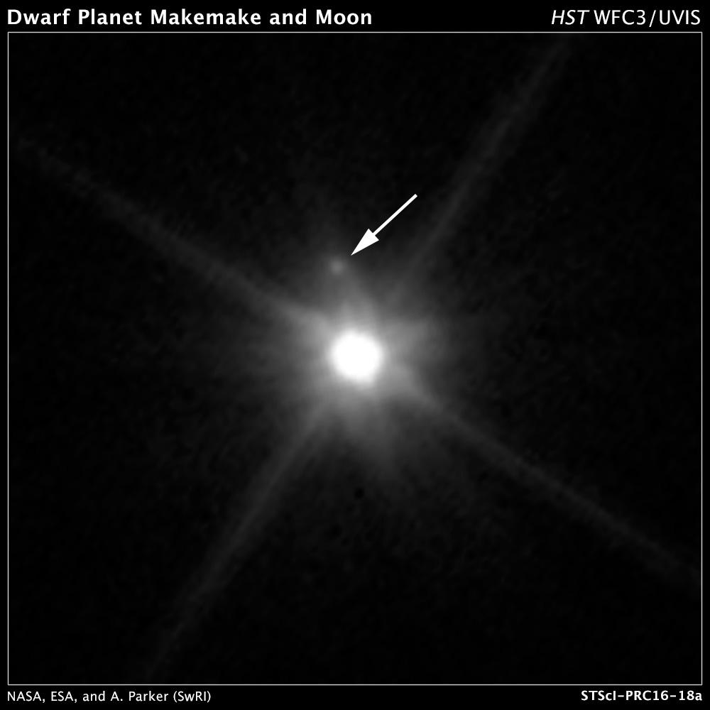 Makemake a jej mesiac