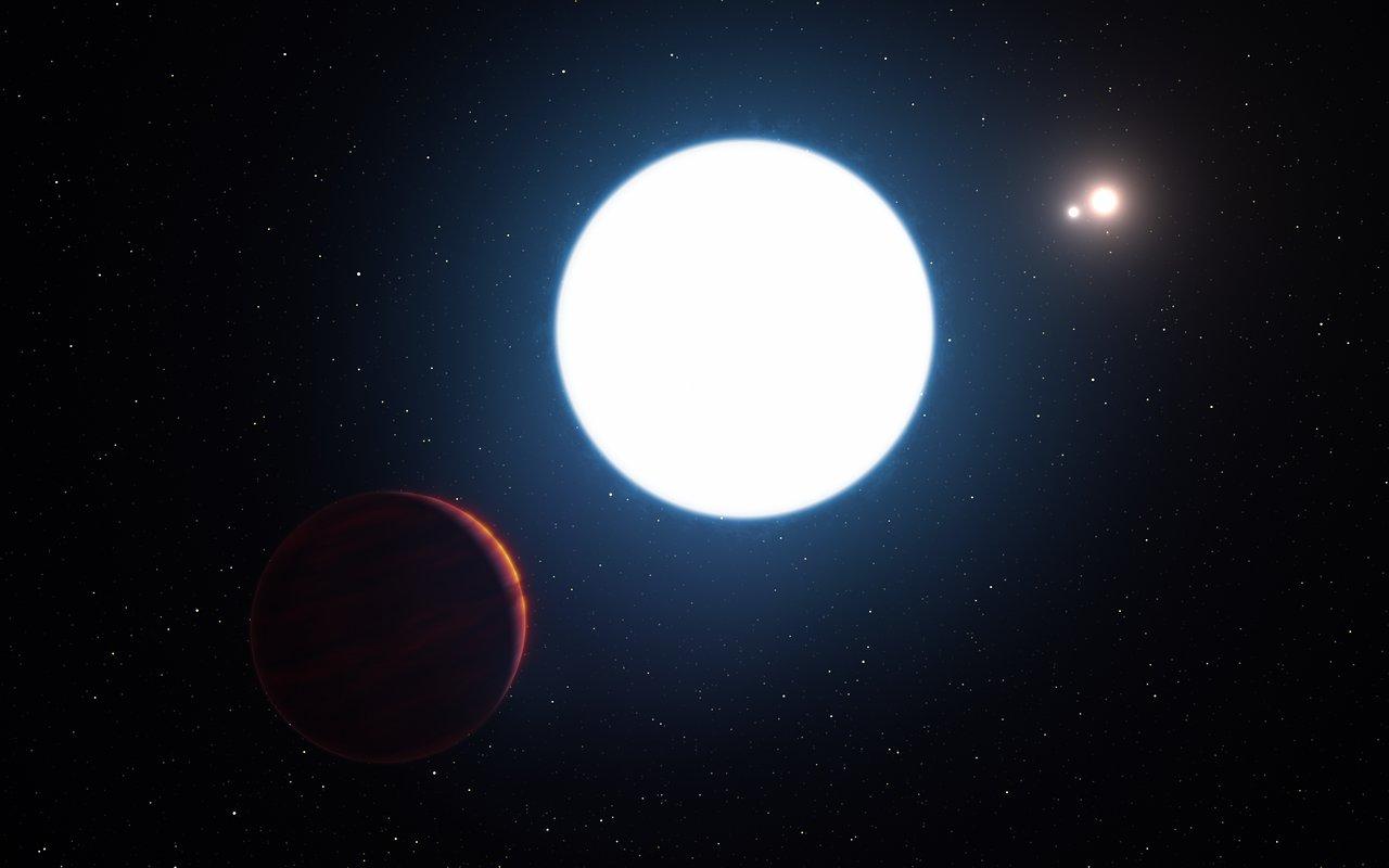 Ilustračný obrázok systému HD 131399