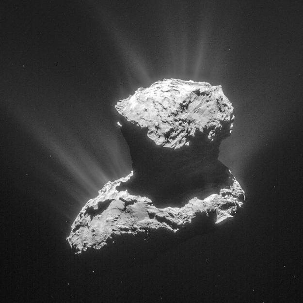 Kométa Čurjumov-Gerasimenko z Rosetty
