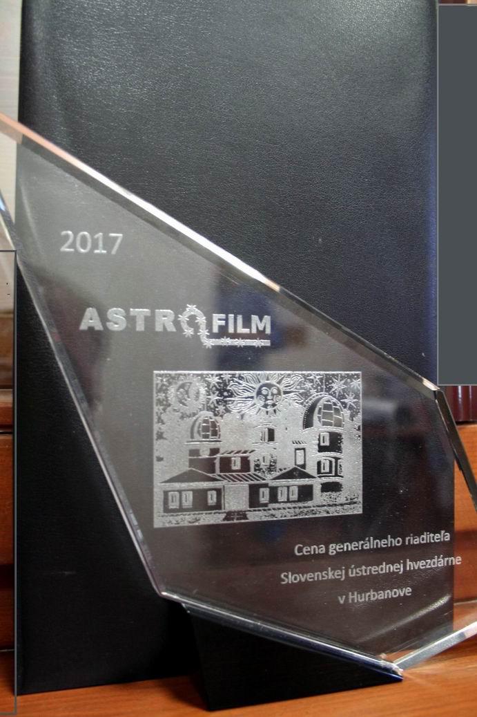 Cena z Astrofilmu 2017