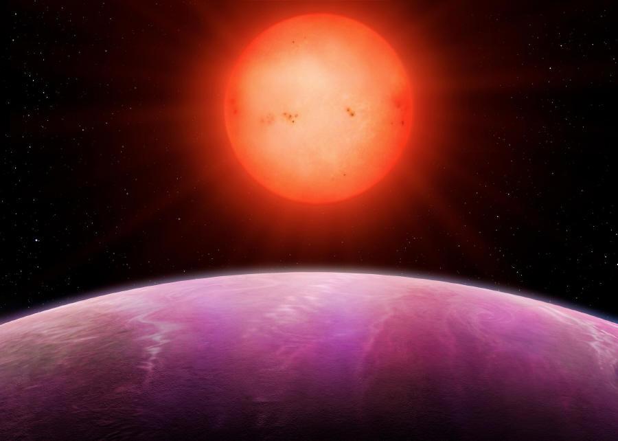 Exoplanéta NGTS-1b