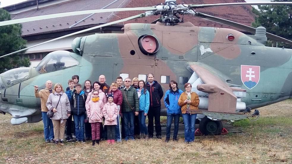 Pri vrtuľniku Mi-24