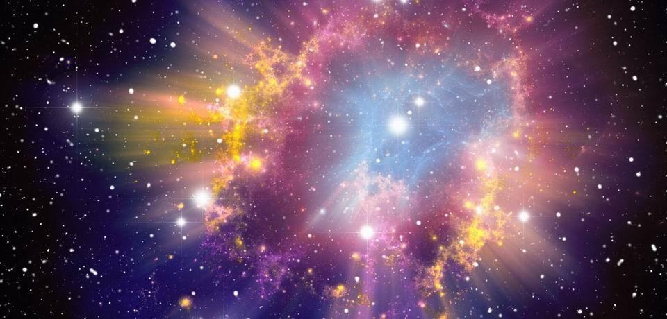 Umelecká predstava výbuchu supernovy