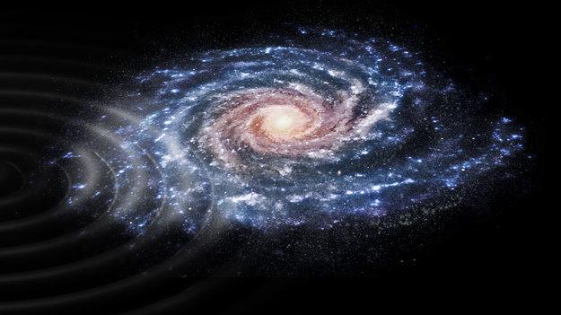Poruchy v Mliečnej ceste